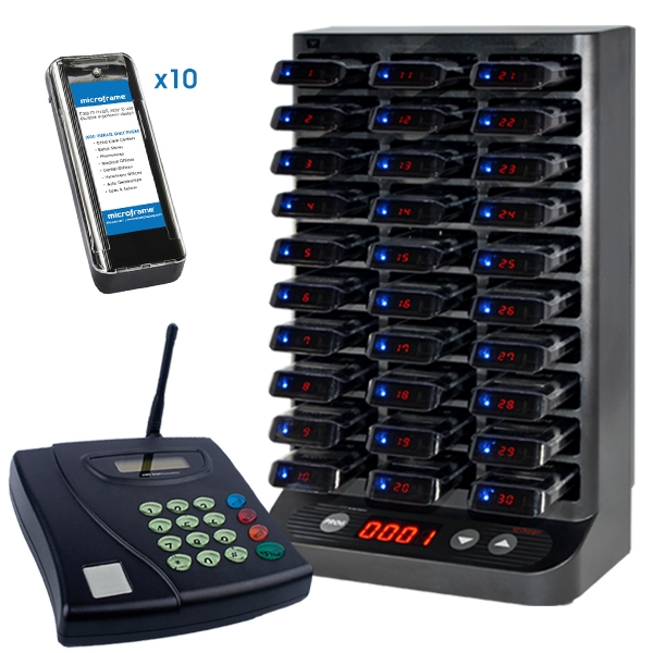 SlimLine2 10 Pager System (Rechargeable)