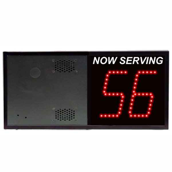 Model 5120 (2-Digit) Take-A-Number Display with VoiceBox