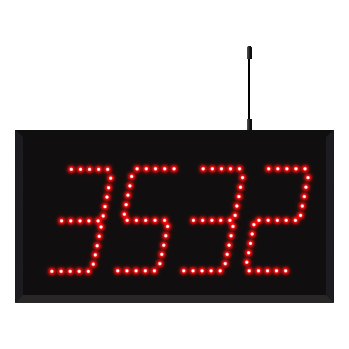 Model 3540 (4-Digit) Wireless Visual-Pager®  Display
