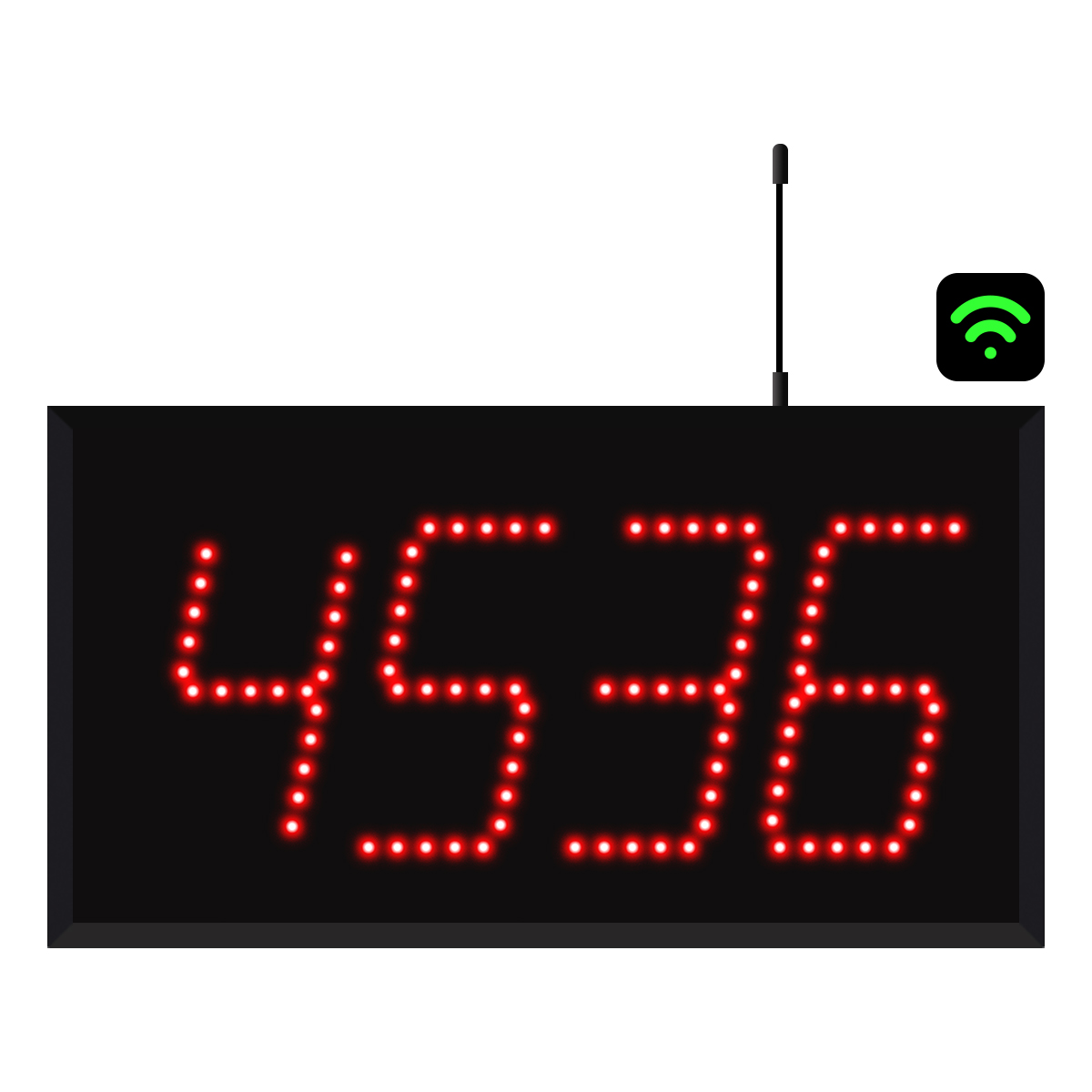 4-Digit WiFi Visual-Pager® Display