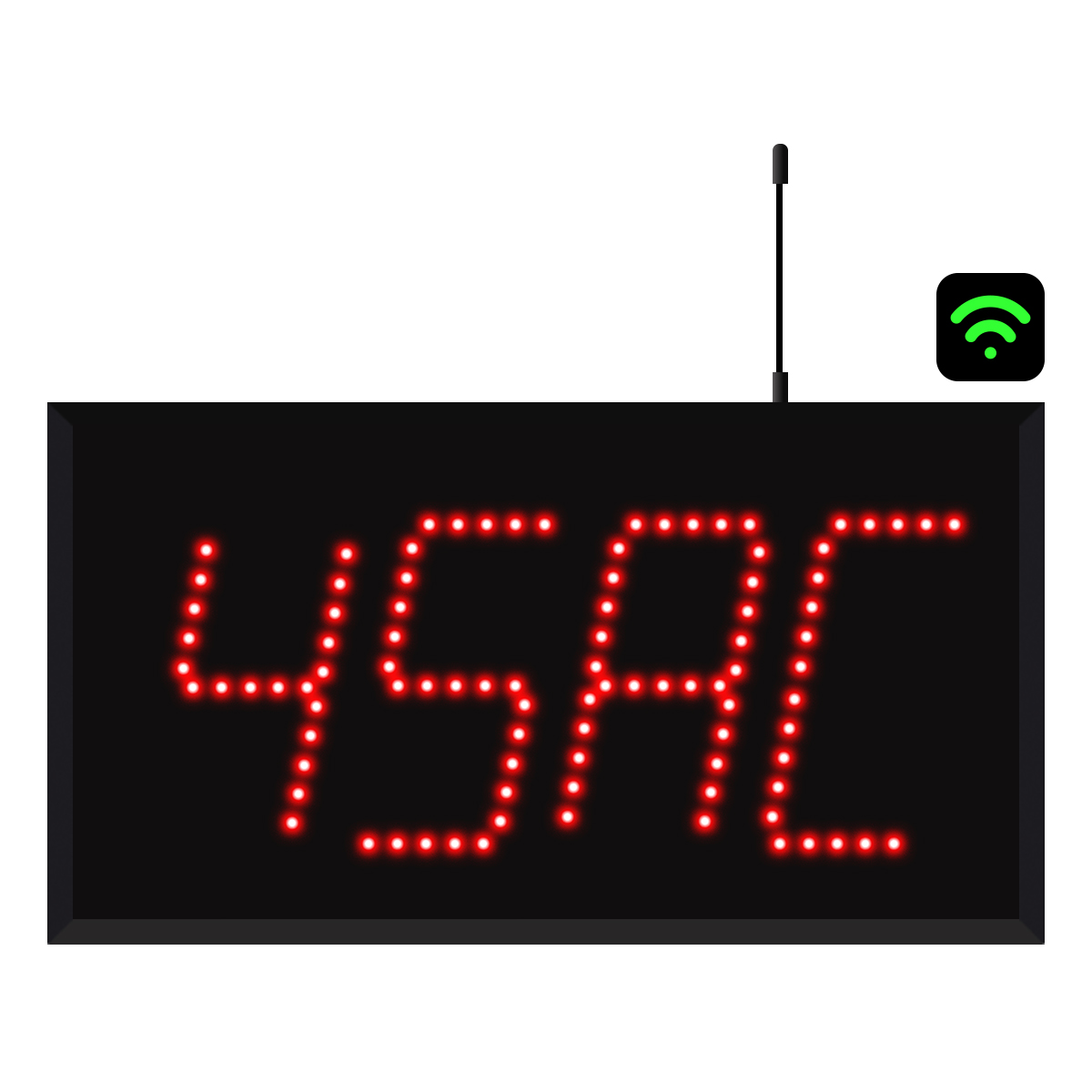 4-Digit WiFi Alpha Numeric Visual-Pager® Display