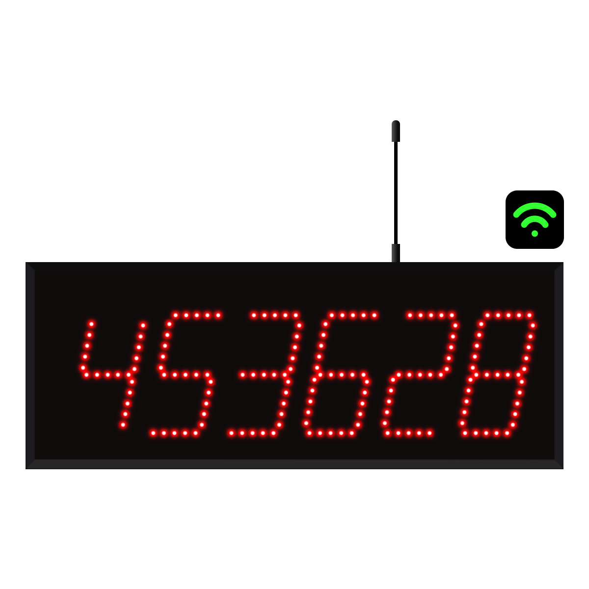 6-Digit WiFi Visual-Pager® Display