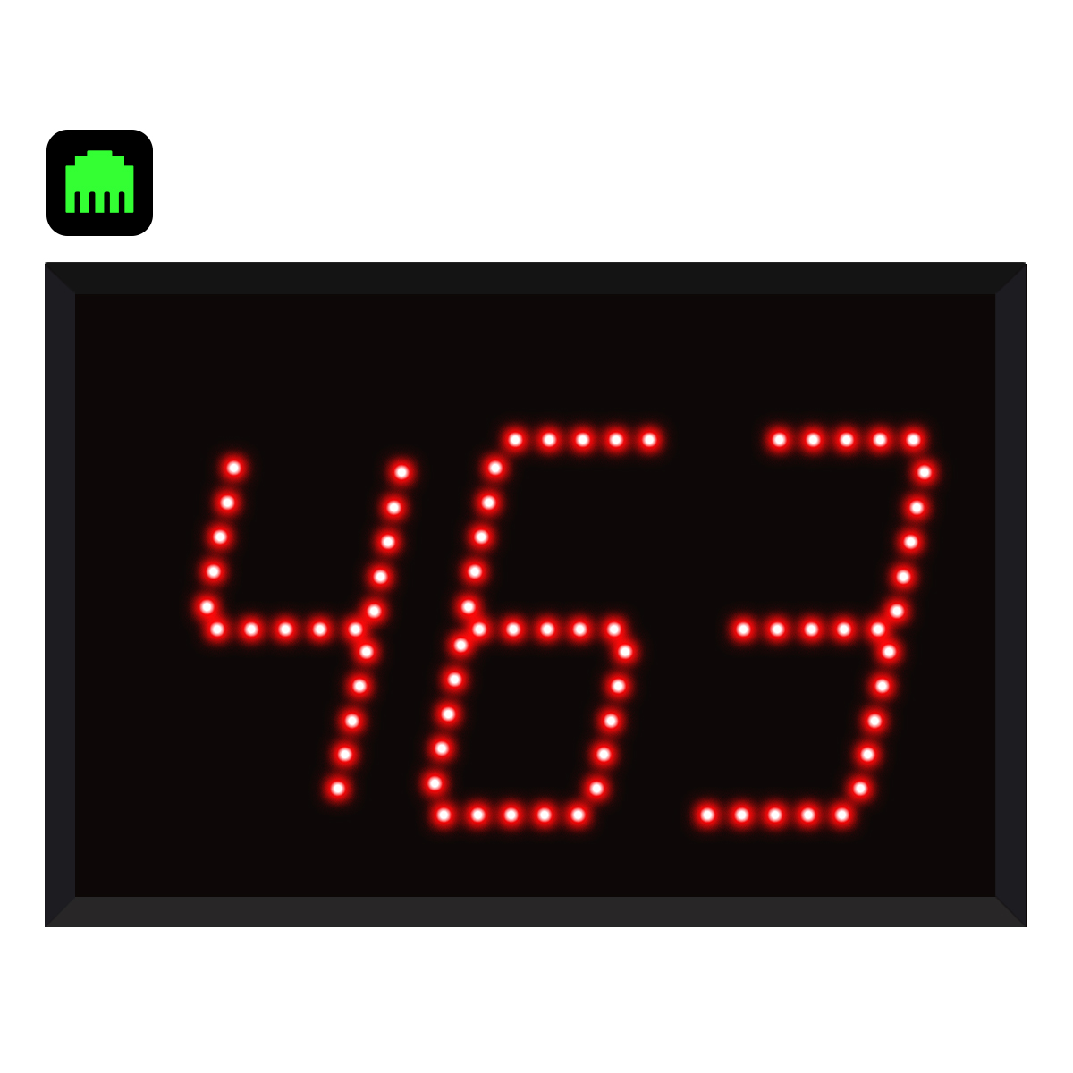 3-Digit Ethernet Visual-Pager® Display