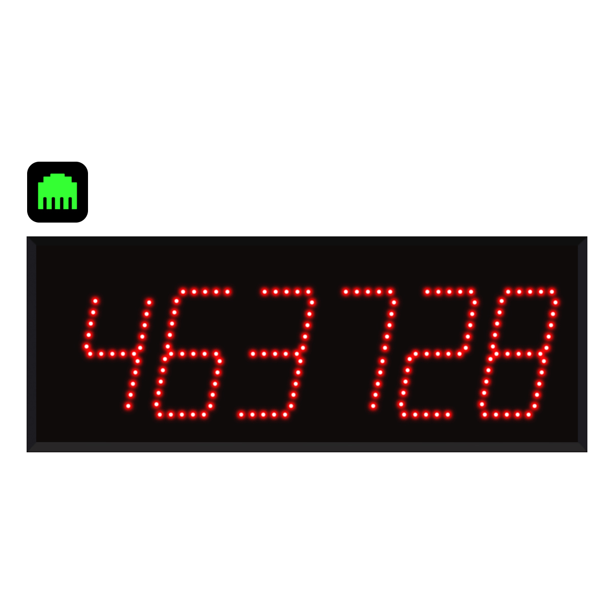 6-Digit Ethernet Visual-Pager® Display