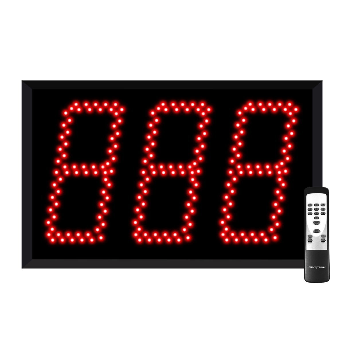 Jumbo 3-Digit Pitch Count Display