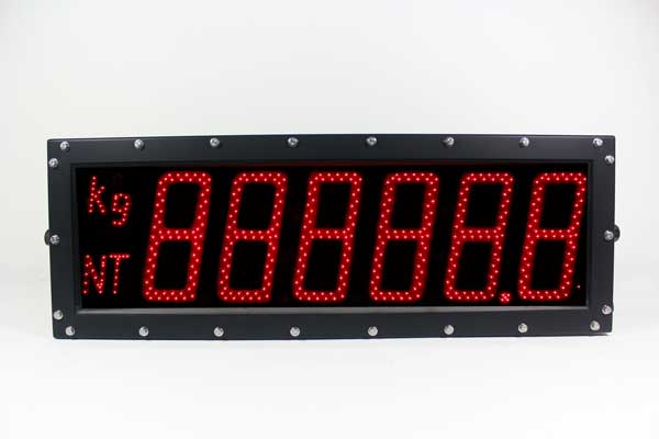 Model 268 (6-Digit) Rugged Computer-Controlled Display