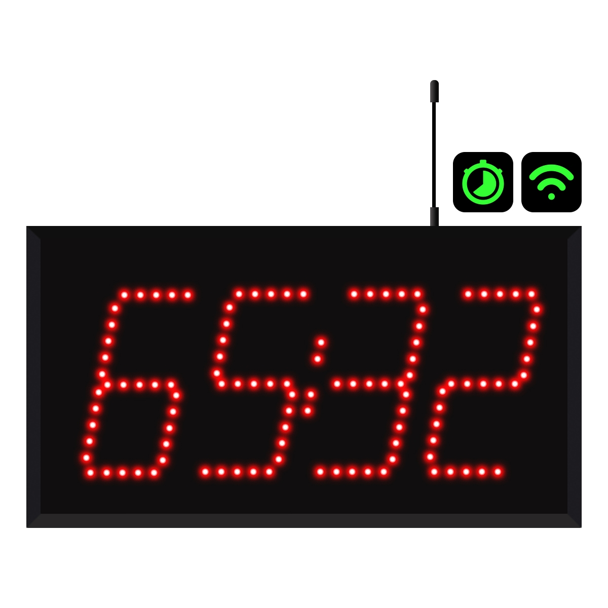 4-Digit Wi-Fi Countdown Timer Display