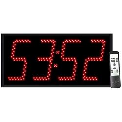 4-Digit Jumbo 8-inch Countdown Timer Display