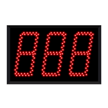 Jumbo 5130 (3-Digit) Take-A-Number Display