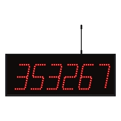 Model 3560 (6-Digit) Wireless Visual-Pager® Display