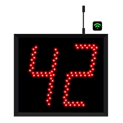 2-Digit Jumbo  WiFi Visual-Pager® Display