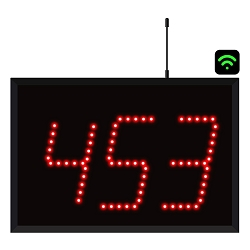 3-Digit WiFi Visual-Pager® Display