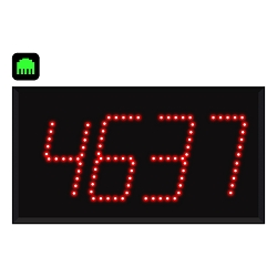 4-Digit Ethernet Visual-Pager® Display