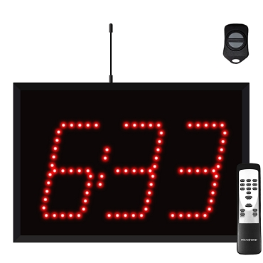 Wireless 3-Digit Timer Display