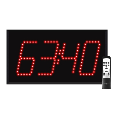 4-Digit Countdown Timer Display