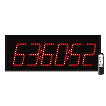 6-Digit Countdown Timer Display