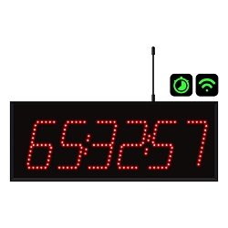 6-Digit Wi-Fi Countdown Timer Display