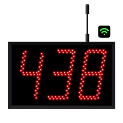 3-Digit Jumbo  WiFi Visual-Pager® Display