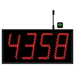 4-Digit Jumbo  WiFi Visual-Pager® Display