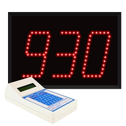Model 9304 (3-Digit) Visual-Pager® System