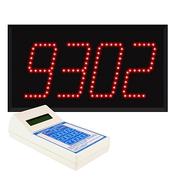 Model 9404 (4-Digit)  Visual-Pager® System