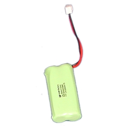 2.4 Volt, 600ma Coaster Battery