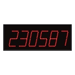 Model 260 (6-Digit) Computer-Controlled Display
