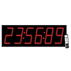 6-Digit Jumbo 8-inch Countdown Timer Display
