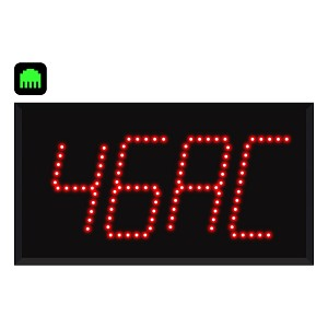 4-Digit Ethernet Alpha Numeric Visual-Pager® Display