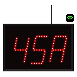 3-Digit WiFi Alpha Numeric Visual-Pager® Display