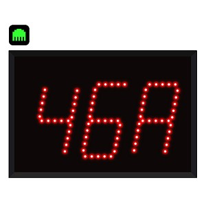 3-Digit Ethernet Alpha Numeric Visual-Pager® Display