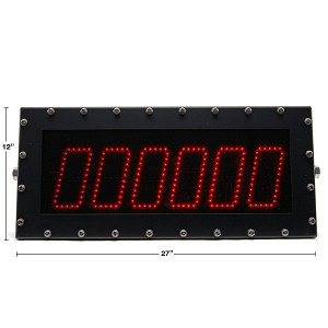 Model 265 (6-Digit) Rugged Computer-Controlled Display